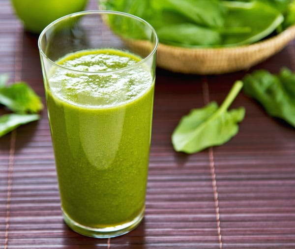 Super Green Cricket Powder Kale Smoothie Entomo Farms