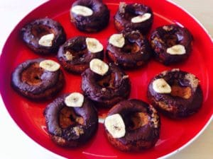 Cricket Banana Donuts