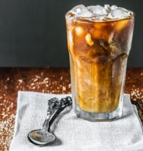Cricket Powered Iced Coffee
