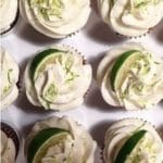 Margarita Cricket Lime Cupcakes