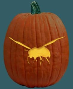 Bee Pumpkin Carving