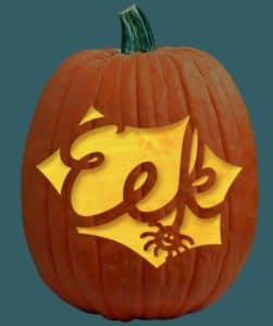 eek-spider-pumpkin-carving