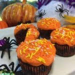 Halloween Cricket Cupcakes