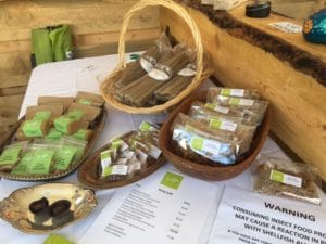 Cricket Powder infused products available at the Slow Food Festival in Denver