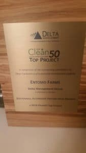 Entomo Farms wins an award for Sustainable Development