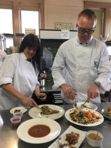 Cooking With Crickets at Liaison College