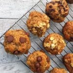 Banana surprise muffins made with Cricket Powder