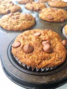 Banana Surprise Muffins with Cricket Powder