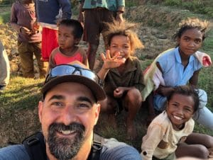Darren in Madgascar for entomophagy project
