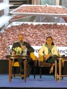 Darren Goldin discussing Canadian cricket farming