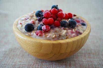 keto porridge made with cricket powder