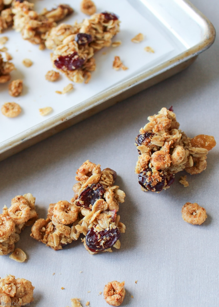 Maple Butter Cricket Clusters