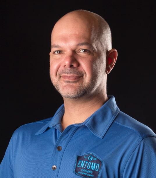 Headshot of Entomo team member Jarrod Goldin.