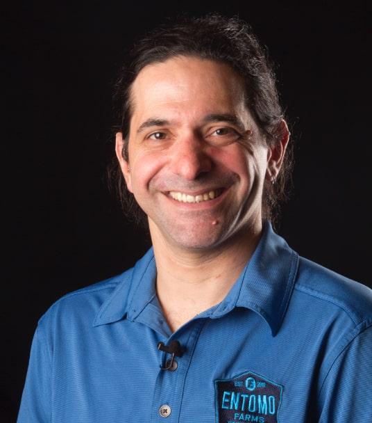 Headshot of Entomo team member Ryan Goldin.